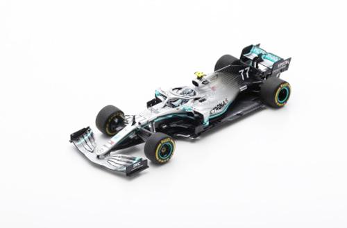 スパーク 1/43 メルセデス W10 V.ボッタス 2019年オーストラリアGP優勝 No.77