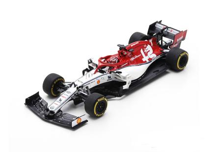 スパーク 1/43 アルファロメオ C38 K.ライコネン 2019年オーストラリアGP No.7