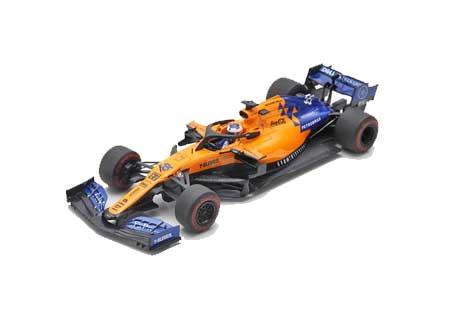 【7/23入荷予定ご予約商品】【再入荷】スパーク 1/43 マクラーレン MCL34 C.サインツJr 2019年オーストラリアGP No.55