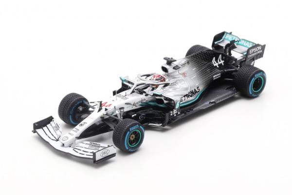 【再入荷】スパーク 1/43 メルセデス W10 L.ハミルトン 2019年ドイツGP スペシャルカラー No.44