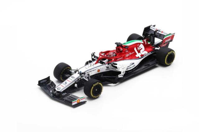 スパーク 1/43 アルファロメオF1 C38 K.ライコネン 2019年イタリアGP No.7