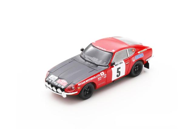 スパーク 1/43 ダットサン 240 Z 1972年モンテカルロラリー 3位 No.5 R.アルトーネン-J.トッド