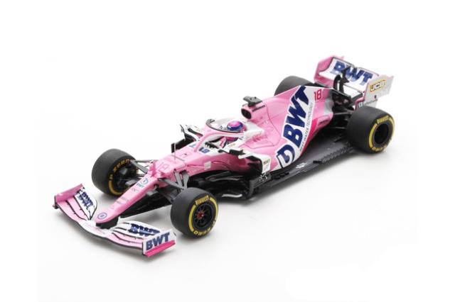 スパーク 1/43 レーシングポイント RP20 L.ストロール 2020年バルセロナテスト No.18
