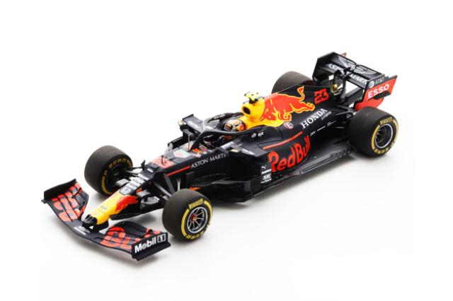 スパーク 1/43 レッドブル・ホンダ RB16 A.アルボン 2020年シュタイアーマルクGP4位 No.23