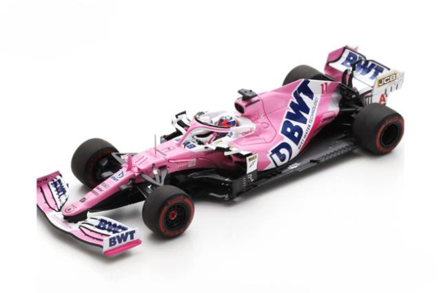 スパーク 1/43 レーシングポイント RP20 S.ペレス 2020年シュタイアーマルクGP6位 No.11
