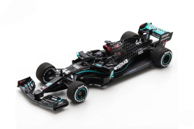 スパーク 1/43 メルセデス W11 L.ハミルトン 2020年シルバーストンGP優勝 No.44