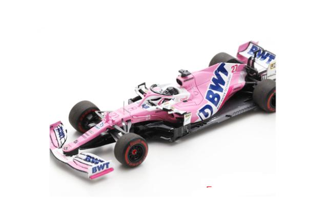 【12月以降順次発売予定ご予約商品】スパーク  S6478 1/43 レーシングポイント RP20 N.ヒュルケンベルグ 2020年F1-70thAnniversaryGP No.27