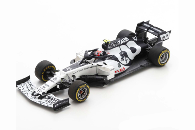 【12月以降順次発売予定ご予約商品】スパーク  S6480 1/43 アルファタウリ・ホンダ AT01 P.ガスリー 2020年イタリアGP優勝 No.10