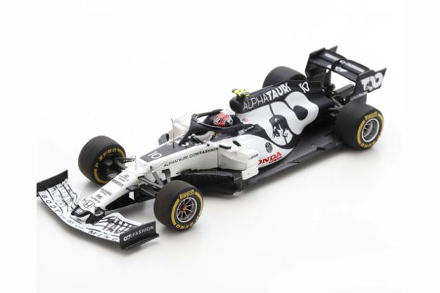 【並行輸入品】スパーク 1/43 アルファタウリ・ホンダ AT01 P.ガスリー 2020年イタリアGP優勝 No.10