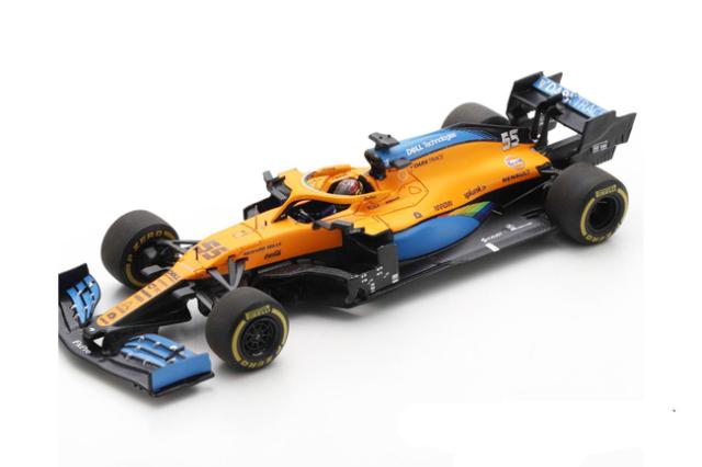 【12月以降順次発売予定ご予約商品】スパーク  S6481 1/43 マクラーレンMCL35 C.サインツJr 2020年イタリアGP2位 No.55