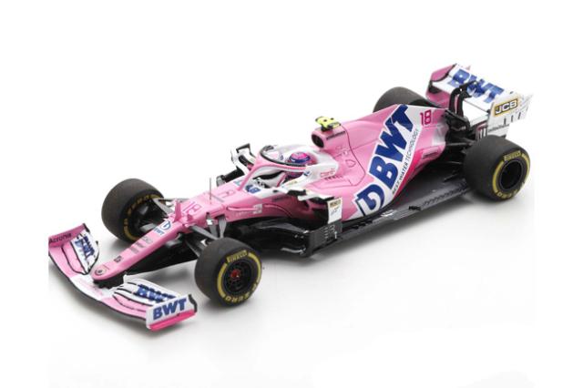 【12月以降順次発売予定ご予約商品】スパーク  S6482 1/43 レーシングポイント RP20 L.ストロール 2020年イタリアGP3位 No.18