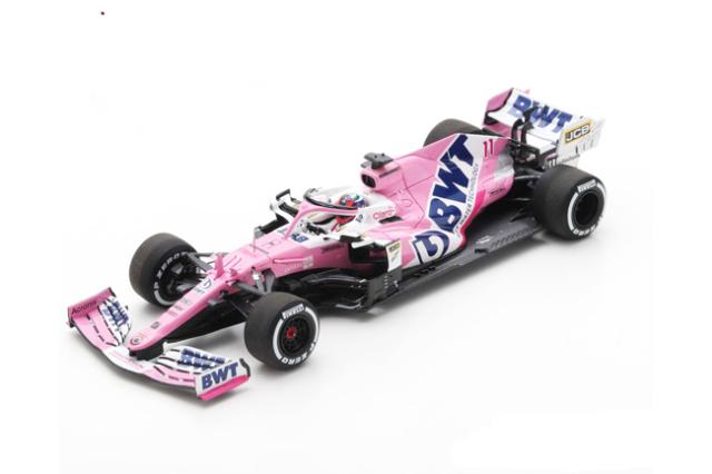 スパーク 1/43 レーシングポイント RP20 S.ペレス 2020年サヒールGP優勝 With Pit Board No.11