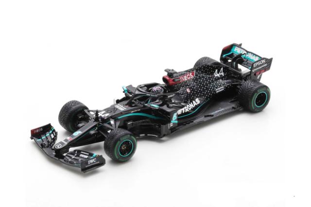 スパーク 1/43 メルセデス W11 L.ハミルトン 2021年トルコGP優勝 No.44 2020 World Champion Edition With Pit Board