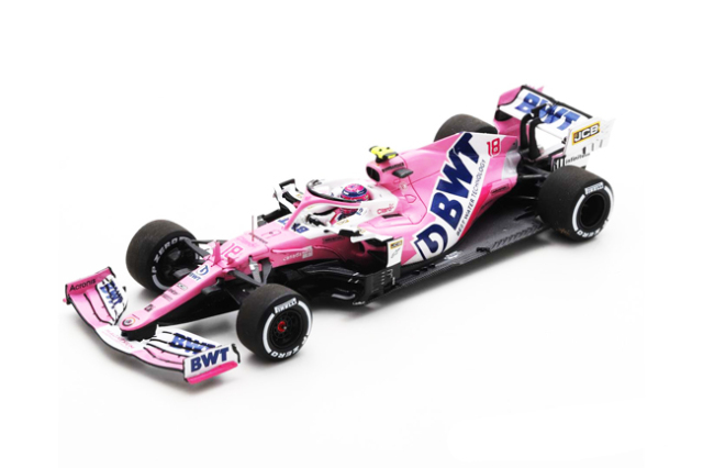スパーク 1/43 レーシングポイント RP20 L.ストロール 2020年ベルギーGP No.18