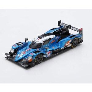 スパーク 1/43 アルピーヌ A470 ギブソン 2018年ルマン24時間レースLMP2クラス優勝 No.36 N.ラピエール-A.ネグラオ-P.ティリエ