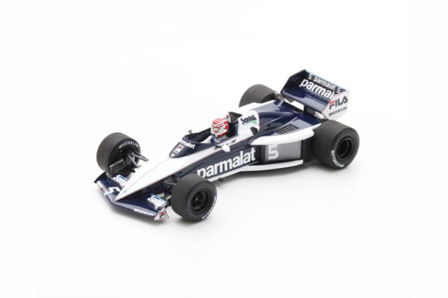 スパーク 1/43 ブラバム BT52B N.ピケ 1983年イタリアGP優勝 No.5