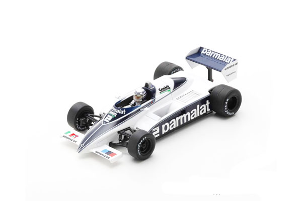 スパーク 1/43 ブラバム BT50 R.パトレーゼ 1982年スイスGP5位 No.2