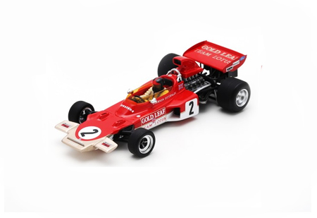 スパーク 1/43  ロータス 72D E.フィッティパルディ 1971年オーストラリアGP2位 No.2