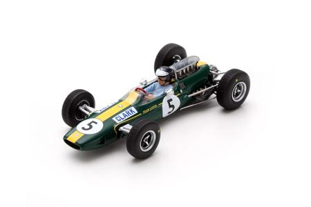 スパーク 1/43 ロータス 33 J.クラーク 1965年イギリスGP優勝 No.5
