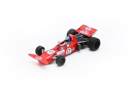 スパーク 1/43 マーチ 711 R.ピーターソン 1971年フランスGP No.17