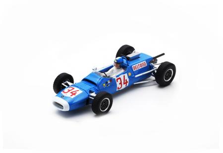 スパーク 1/43 マトラ MS5 J.P.ベルトワーズ 1966年F2ドイツGP優勝 No.34