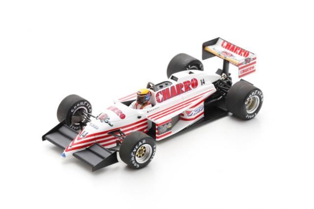 スパーク  1/43 AGS JH22 R.モレノ 1987年オーストラリアGP6位 No.14