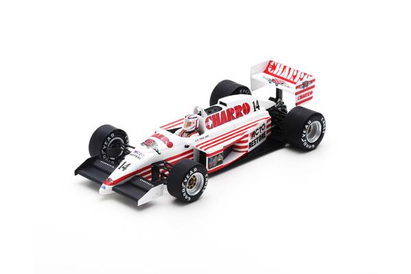 スパーク 1/43 AGS JH22 P.ファーブル 1987年イギリスGP No.14