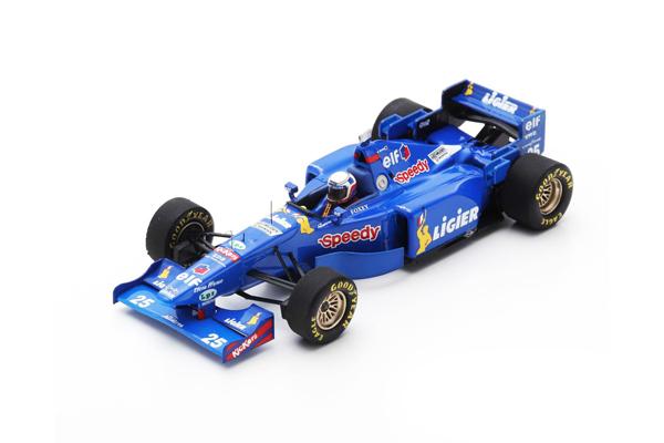 スパーク 1/43 リジェJS41 M.ブランドル 1995年フランスGP 1995 No.25