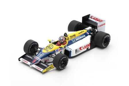 スパーク 1/43 ウィリアムズFW11 N.マンセル 1986年ベルギーGP優勝 No.5