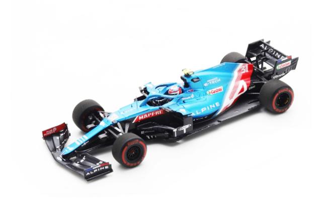 スパーク 1/43 アルピーヌ F1 A521 E.オコン 2021年バーレーンGP No.31