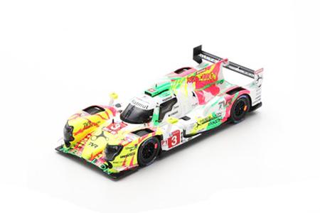 スパーク 1/43レベリオン R13-ギブソン Rebellion Racing 2019年ルマン24時間レース5位 T.Laurent- N.Berthon-G.Menezes No.3