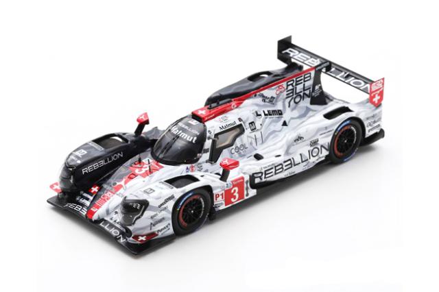 スパーク 1/43 レベリオンギブソン R13 2020年ルマン24時間レース4位 .ベルトン-L.デレトライズ-R.デュマ No.3