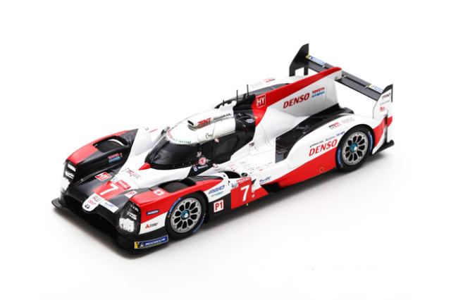 スパーク 1/43 Toyota(トヨタ)TS050-Hybrid No.7 2020年ルマン24時間レース3位 M.コンウェイ- 小林可夢偉-J.M.ロペス
