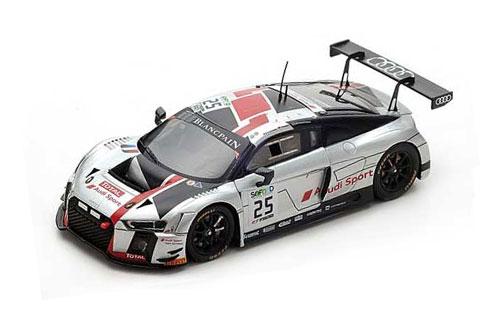 スパーク 1/43 アウディ R8 LMS No.25 2017年スパ24時間レース優勝 Audi Sport Team C.Haase-J.Gounon-M.Winkelhock