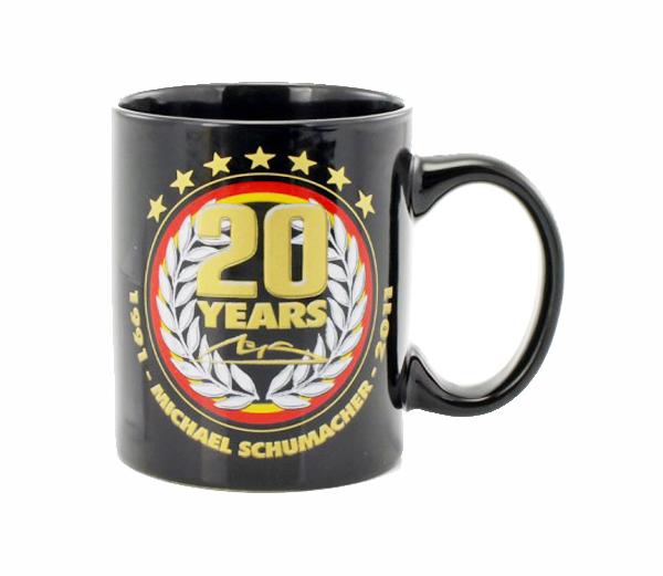ミハエル・シューマッハ コレクション F1デビュー20周年記念 マグカップ