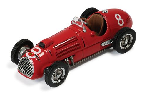 イクソ 1/43  フェラーリ 125F1 A.アスカリ 1949年イタリアGP優勝 No.8