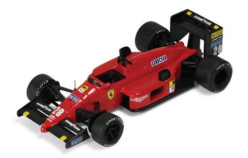 イクソ 1/43  フェラーリ  F187 G.ベルガー 1987年日本GP優勝  No.28
