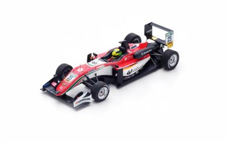 スパーク 1/43  ダラーラF3 セオドールレーシング by Prema Powerteam M(ミック).シューマッハ ユーロF3 2017年モンツァ レース2 3位