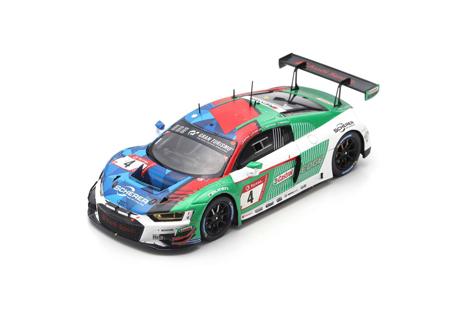 スパーク 1/43 アウディ R8 LMS No.4 Audi Sport Team Phoenix 2019年 ニュルブルクリンク 24時間レース優勝 P.Kaffer-F.Stippler-F.Vervisch-D.Vanthoor