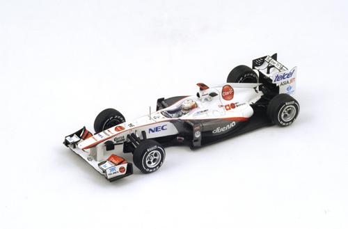 スパークナショナルモデル(SJ) 1/43  ザウバーC30 小林可夢偉   2011年日本GP No.16