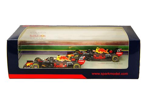 KIDBOX別注 スパーク 1/43 レッドブル ホンダ RB15 デビュー2台セット 2019 F1 オーストラリアGP