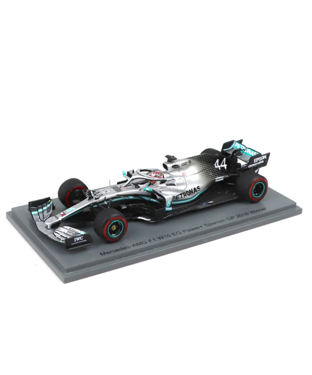 国内限定 ES別注スパーク 1/43 メルセデス W10  L.ハミルトン 2019年スペインGP優勝 300台限定