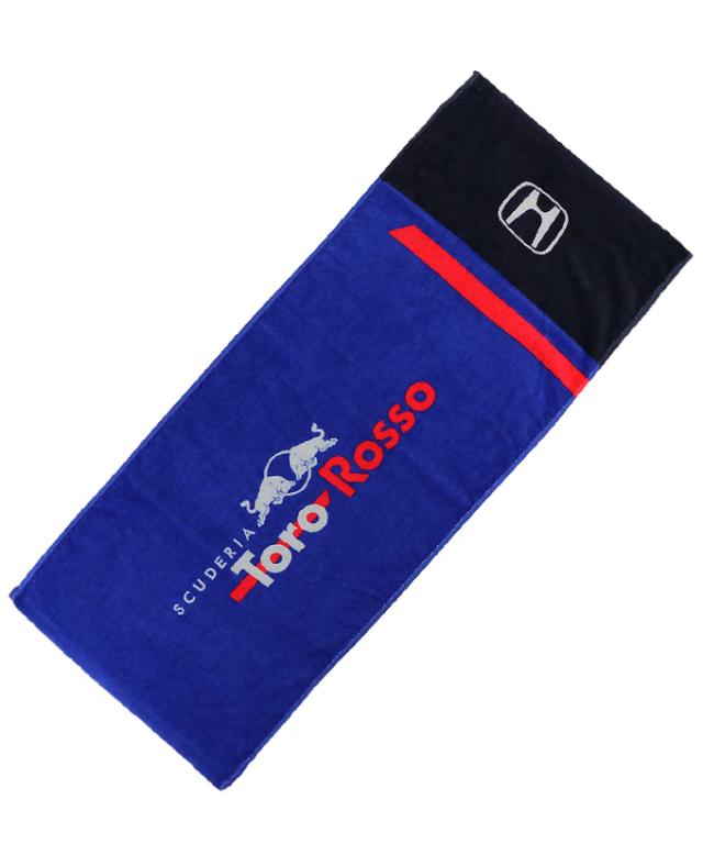REDBULL TOROROSSO HONDA 2018 レッドブル・トロロッソ・ホンダ 日本限定 スポーツタオル