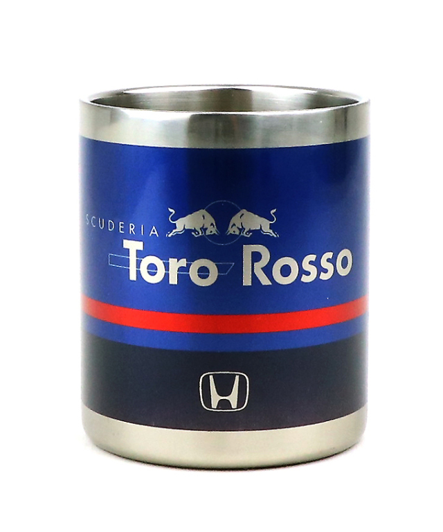 REDBULL TOROROSSO HONDA 2018 レッドブル・トロロッソ・ホンダ 日本限定 ステンレスマグカップ