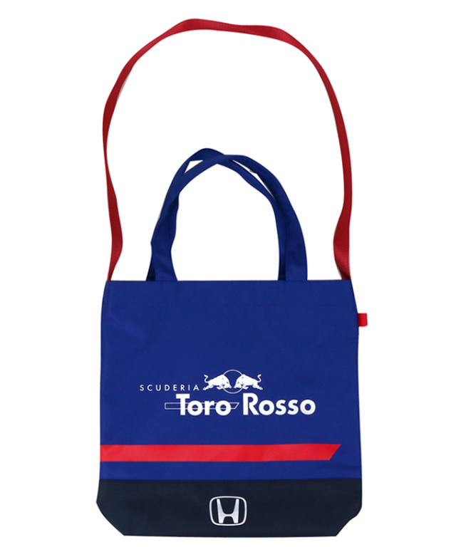 REDBULL TOROROSSO HONDA 2018 レッドブル・トロロッソ・ホンダ 日本限定 トートバック