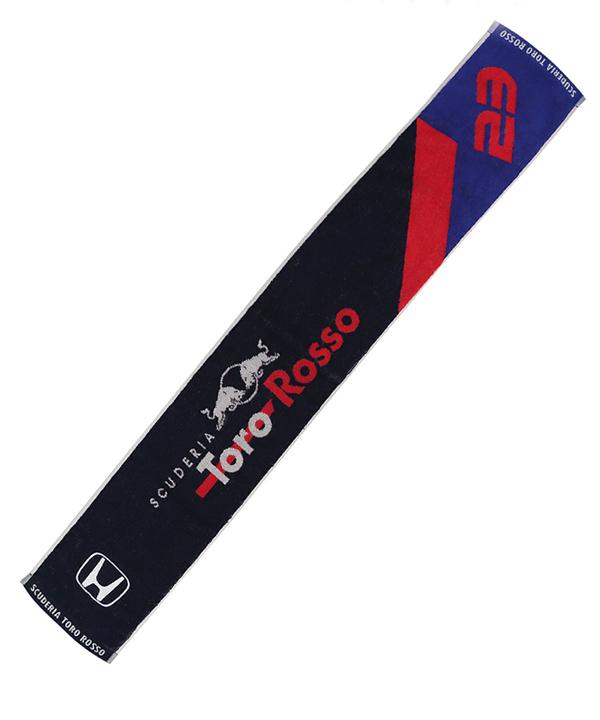REDBULL TOROROSSO HONDA 2019 レッドブル・トロロッソ・ホンダ チーム A.アルボン 応援タオル(タオルマフラー)