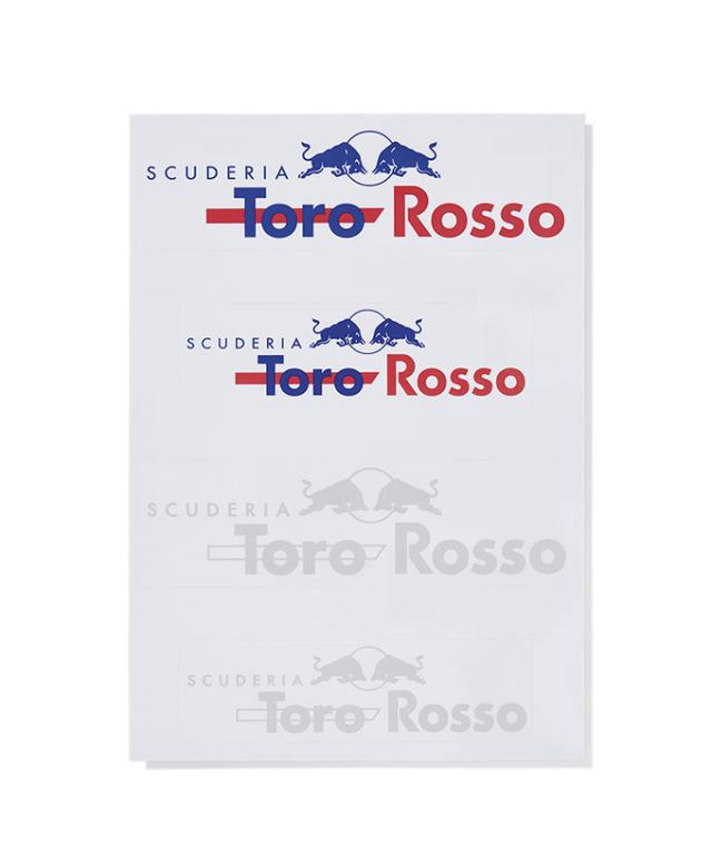 REDBULL TOROROSSO HONDA 2019 レッドブル・トロロッソ・ホンダ ステッカーセット(18-19継続販売)