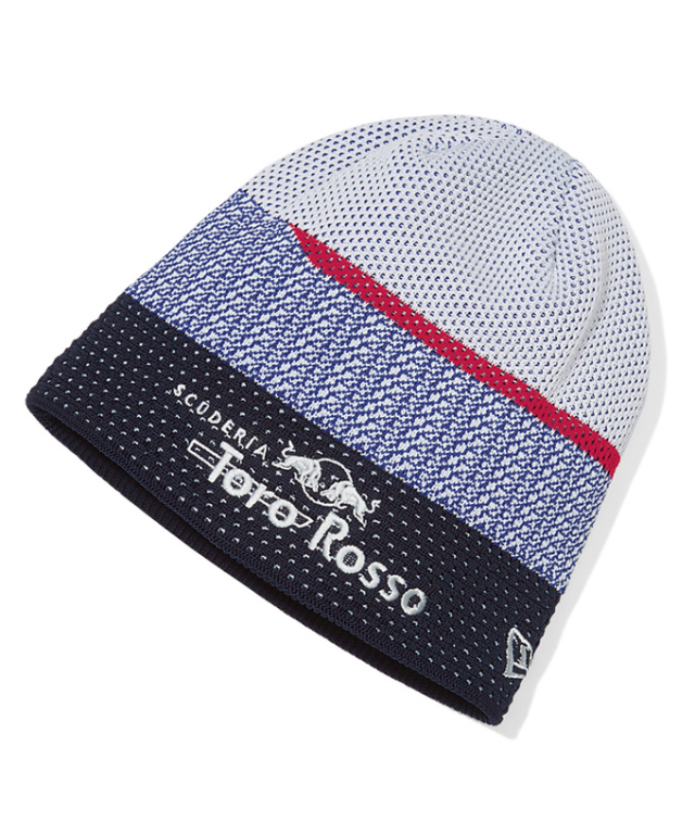 REDBULL TOROROSSO HONDA 2018 レッドブル・トロロッソ・ホンダ チーム ニットキャップ(NEWERA製)