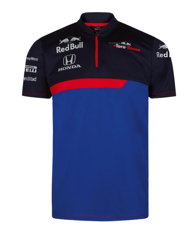 REDBULL TOROROSSO HONDA 2019 レッドブル・トロロッソ・ホンダ チームファンクショナルTシャツ
