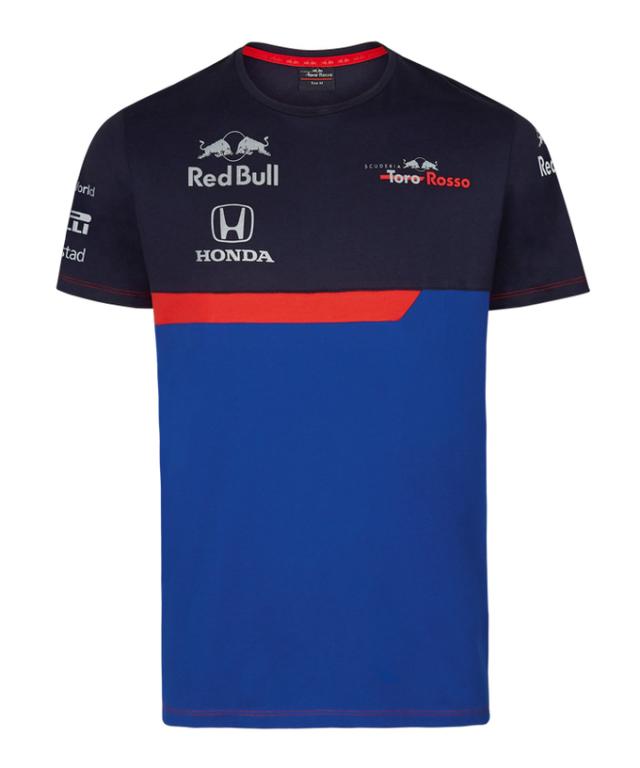 REDBULL TOROROSSO HONDA 2019 レッドブル・トロロッソ・ホンダ チームTシャツ